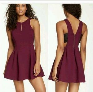 Dresses & Skirts - NWT BCBG Brulee Faux Leather Cutwork Dress